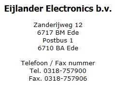 Eijlander-Info